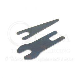 Par de molas Aço LAURO PAOLINI - Traço 34mm