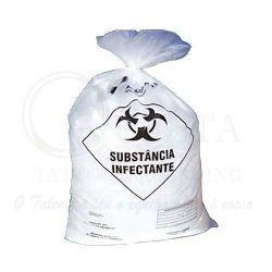 Saco de Lixo Hosp. Infectante 50 Litros - Pct 10 unid.