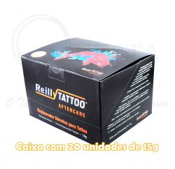 Rest. Dérmico Reilly Tattoo Aftercare - 15g - CX 20 Unid.