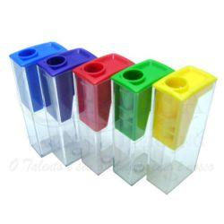 Apontador Plástico com depósito