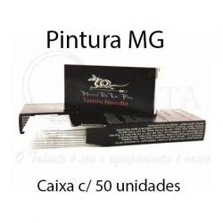 Agulhas Marco De La Piel - PINTURA MG - Caixa c/ 50 agulhas