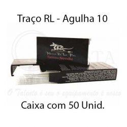 Agulhas Marco De La Piel - TRAÇO RL (10) - Caixa c/ 50 agulhas
