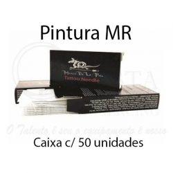 Agulhas Marco De La Piel - PINTURA MR - Caixa c/ 50 agulhas