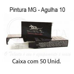 Agulhas Marco De La Piel - PINTURA MG (10) - Caixa c/ 50 agulhas