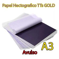 Papel Hectográfico TTs GOLD A3 - 44cm x 59,40cm - Avulso
