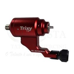 Máquina Rotativa Lauro Paolini - TRIXY T.3 - Vermelha