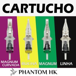 Cartuchos PHANTOM HK - Magnum MG - Avulso