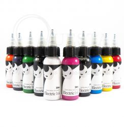 Set de Tintas ELECTRIC INK 30ml - 10 Tubos