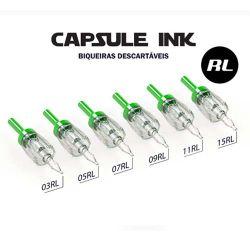 Biqueira Descartável CAPSULE INK 28mm - TRAÇO