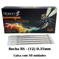 Agulhas HORNET - BUCHA RS (12) - Caixa c/ 50 agulhas