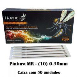 Agulhas HORNET - PINTURA MR  (10) - Caixa c/ 50 agulhas