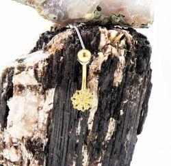 Banana Bell Aço Banho de Ouro UP171 - PINGENTE 015