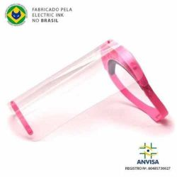 Protetor Facial SHIELD Electric Ink - Pink