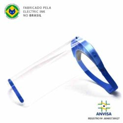 Protetor Facial SHIELD Electric Ink - Azul Marinho