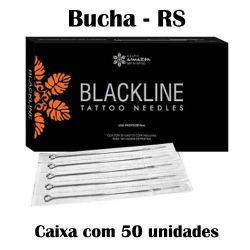 Agulhas Black Line - BUCHA - Caixa c/ 50 agulhas