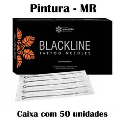 Agulhas Black Line - PINTURA - (MR) - Caixa c/ 50 uni.