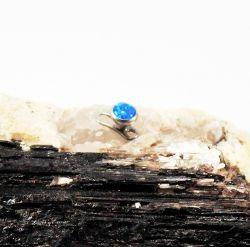 Micro Dermal em TITÂNIO - Opala Azul