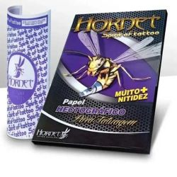 Papel Hectográfico HORNET Spirit of Tattoo - AVULSO